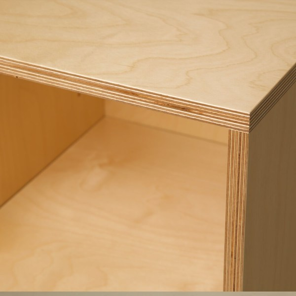 Detail of the SB1 and SB2 sideboard by Out of the Woodwork, sold on Chalk & Moss.