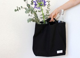 My Organic Bag by The Organic Company - perfect as a sturdy cotton canvas day bag or shopping bag. Available on Chalk & Moss (chalkandmoss.com).