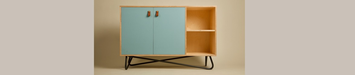 Out of the Woodwork (OOTW) make midcentury modern inspired and Scandi furniture.