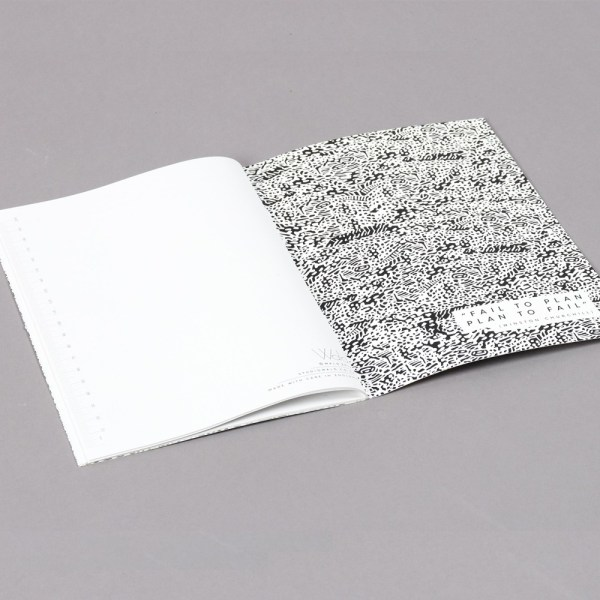 2019 diary in monochrome design with a month to view. 48 stylishly designed pages with extra pages for you to further plan out your year. The design is inspired by Wald founder Jake's artist mother's original designs. 22x16cm