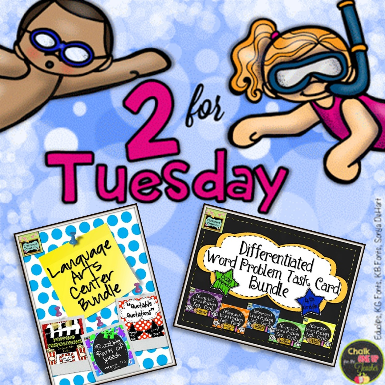 2 For Tuesday 4th And 5th Grade Math Scavenger Hunts