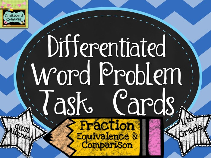 Math Task Cards: Fractions