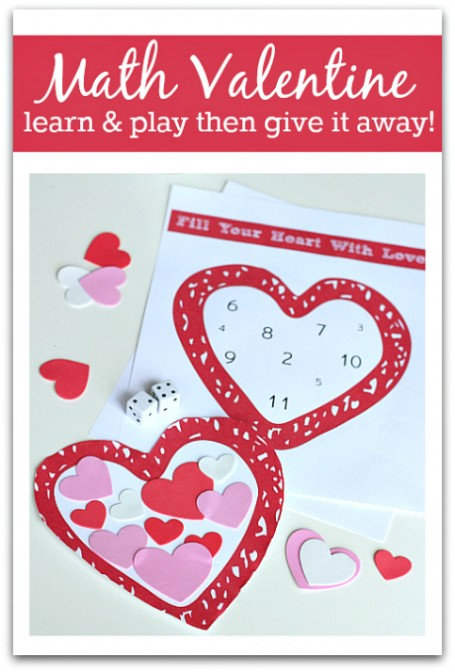 Valentine Math Activity