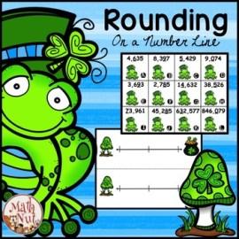 Rounding Math St. Patrick's Day