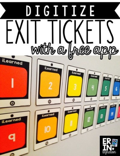 Digitize-exit-tickets