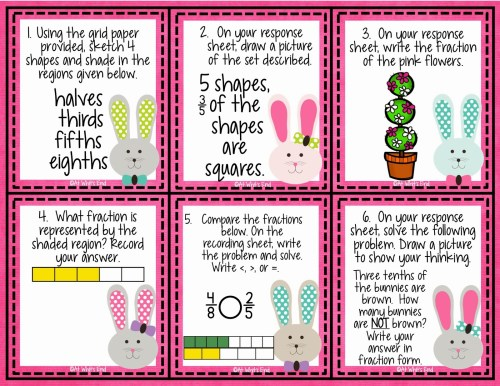 Need help with lesson plans? Check out the top 10 of the best FREE Spring themed math centers for math workshop (3rd-5th grade)!