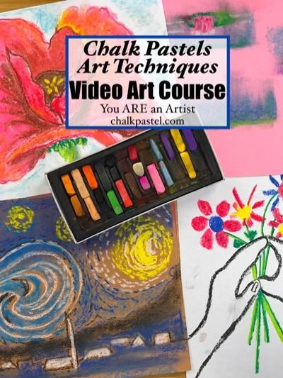 Art Techniques with Chalk Pastels