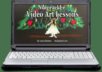 Nutcracker Video Art Lessons