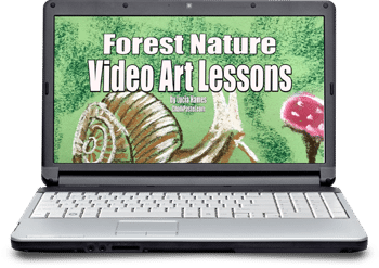 Forest Nature Video Art Lessons