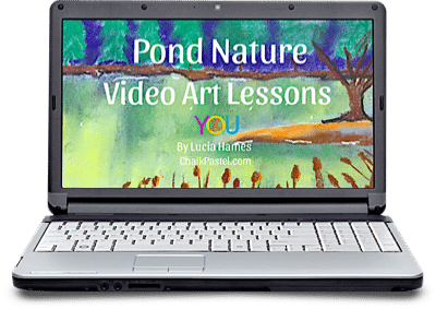 Pond Nature Video Art Lessons - Exploring Pond Life with Over and Under the Pond (+ Free Printables)