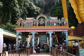 Entrance @ Batu Caves
