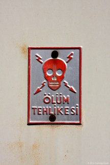 Safety Sign @ Istanbul