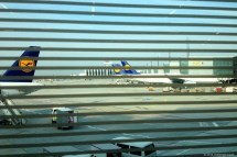 View from Lufthansa Business Lounge @ Frankfurt Airport