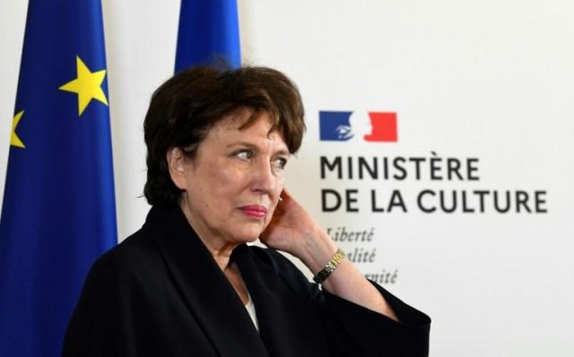 Roselyne Bachelot au ministère de la Culture à Paris le 6 juillet 2020 (AFP - Alain JOCARD)