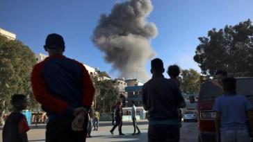A Gaza, les raids israéliens s'intensifient, la peur des habitants aussi