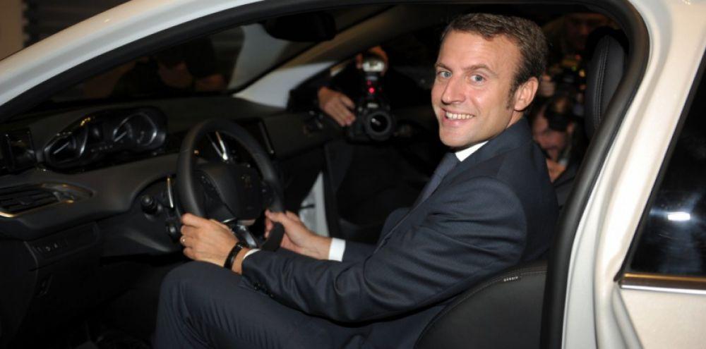 Macron Croit Au Renouveau De Lindustrie Automobile