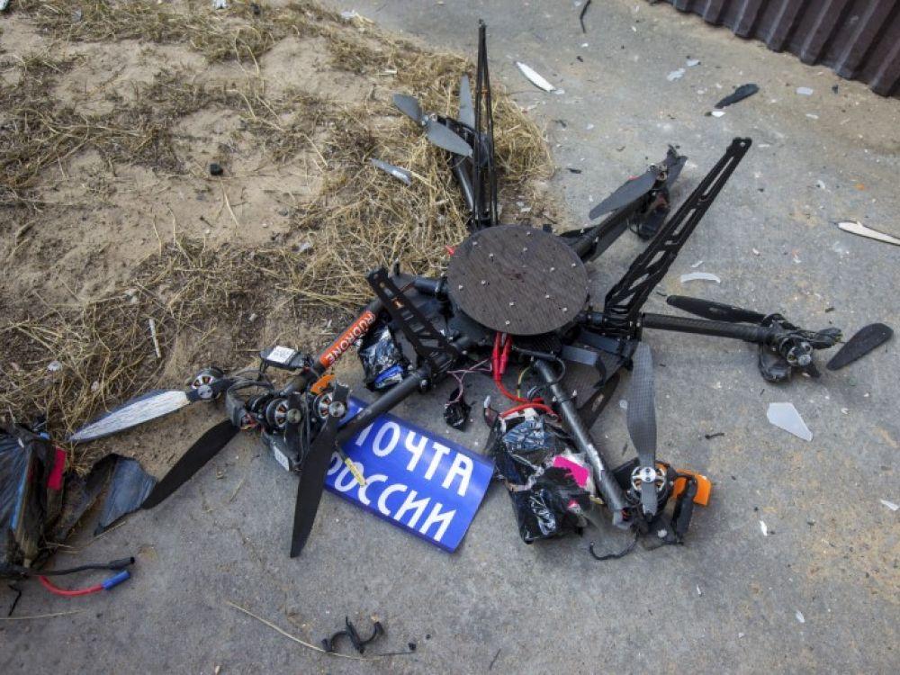 Un Drone Postal Russe Fonce Dans Un Mur Lors De Son Vol Inaugural Challenges