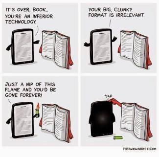 Image result for book vs kindle images