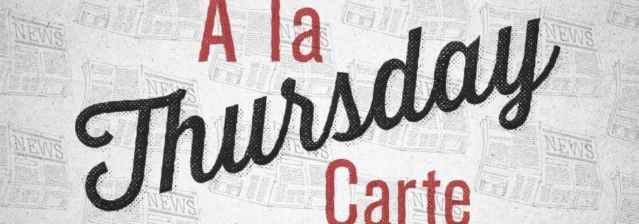 A La Carte (October 3)