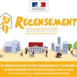 Campagne de recensement 2019 à Chalonnes-sur-Loire