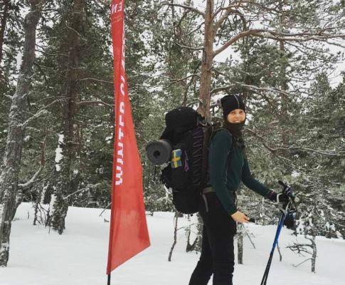 Vintervandring, Höga Kusten Winterclassic 2016