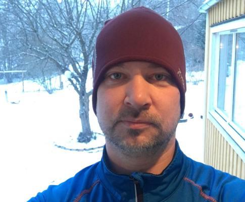 Ut och springa i snöstorm? Är du galen?