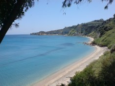 Agia Triada beach near Finikounda