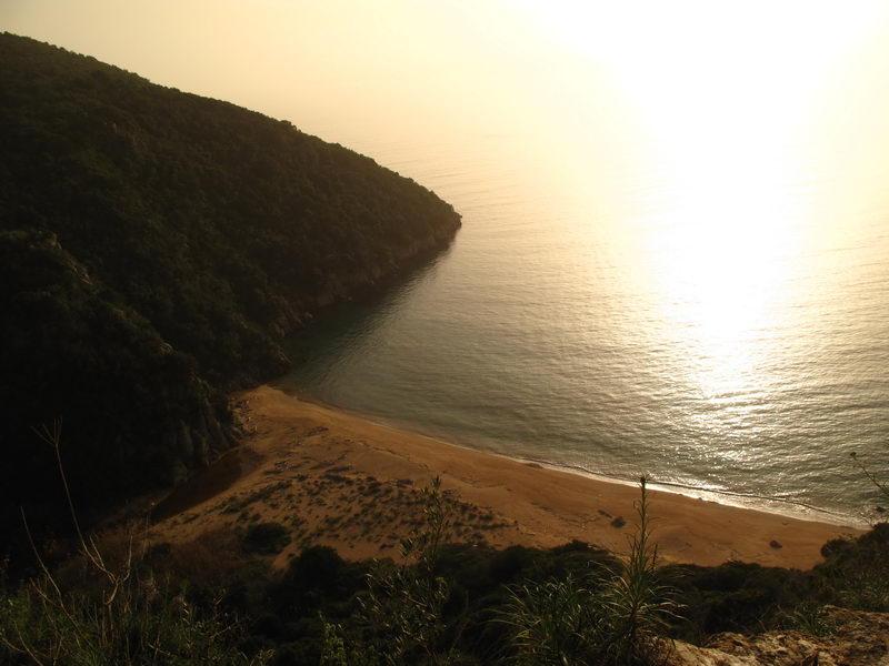 Kantouni beach in Finikounda