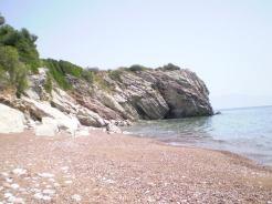 Krioneri beach in Finikounda