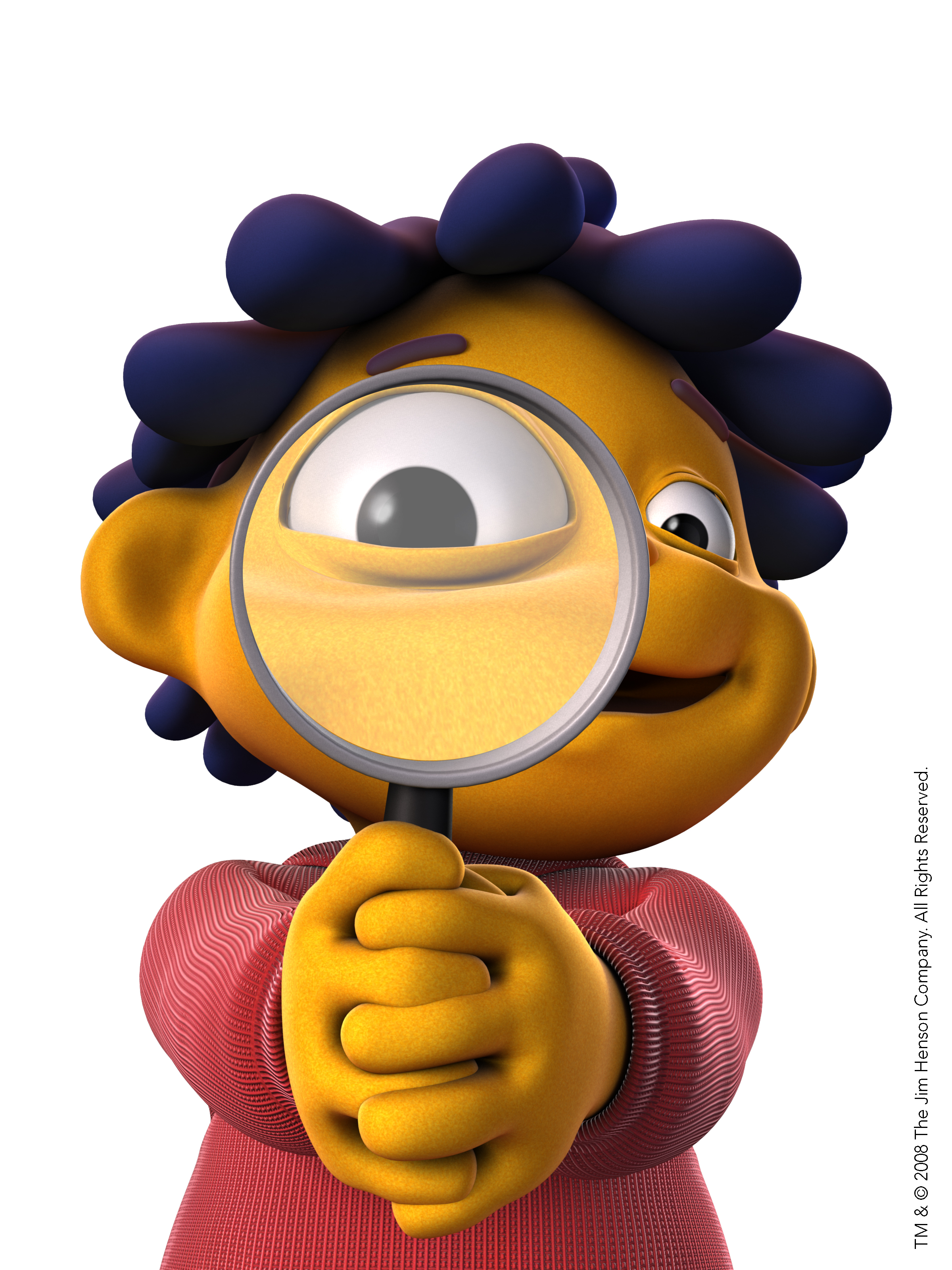 Sid The Science Kid With Magnifying Glass