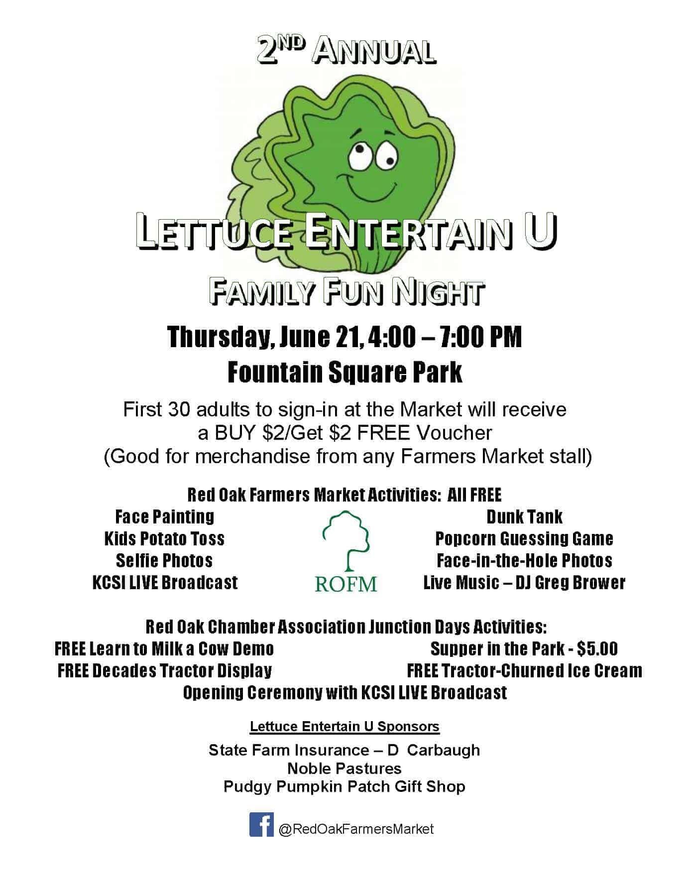 ROFM Lettuce Entertain U