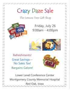 Lemon Tree Crazy Daze Sale