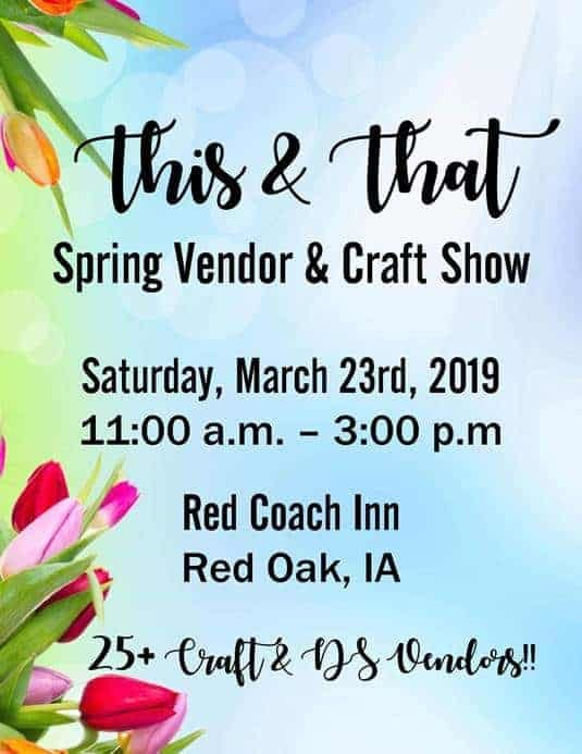 This & That: Spring Vendor & Craft Show