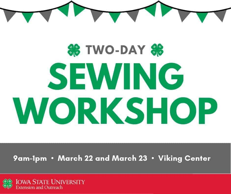 Two-Day Sewing Workshop
