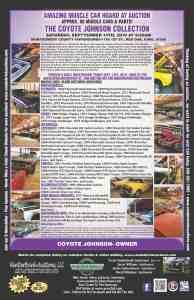 Coyote Johnson Auto Auction 9.14.19