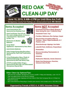 Red Oak Clean-up Day