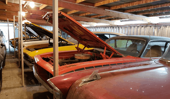 Muscle Car Heaven! The Coyote Johnson Collection Auction