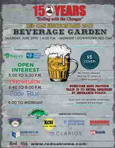 Red Oak Junction Days Downtown Beverage Garden
