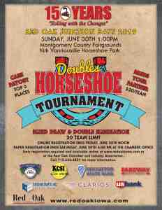 Doubles Horseshoe Tournament 2019
