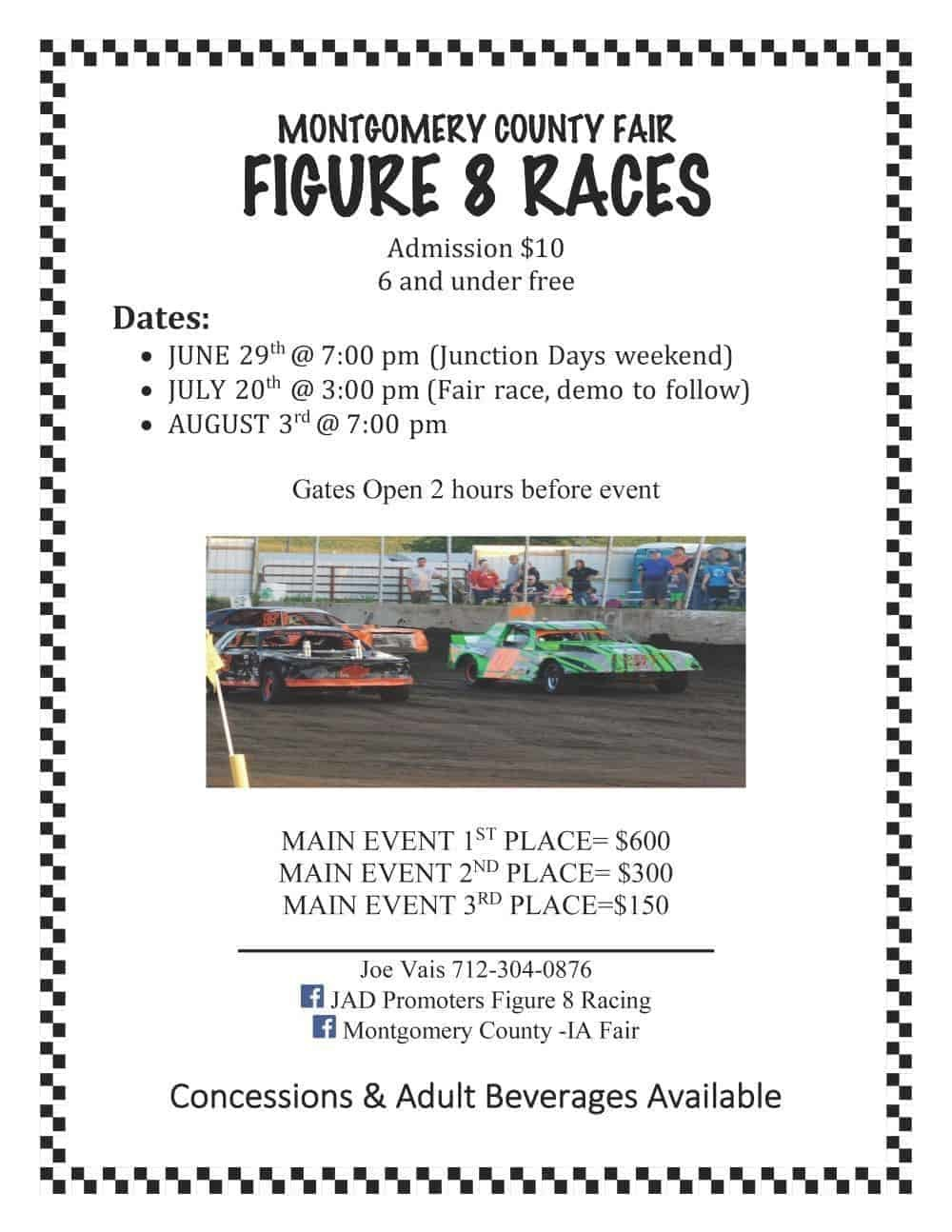 Figure 8 Races Poster 2019