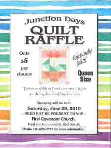 First Covenant Church Quilt Raffle