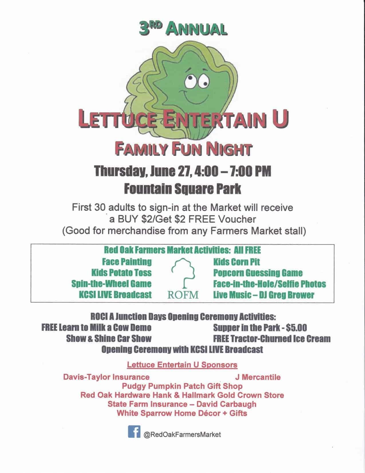 Lettuce Entertain U