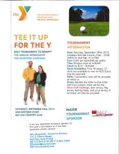 Tee It Up For The Y