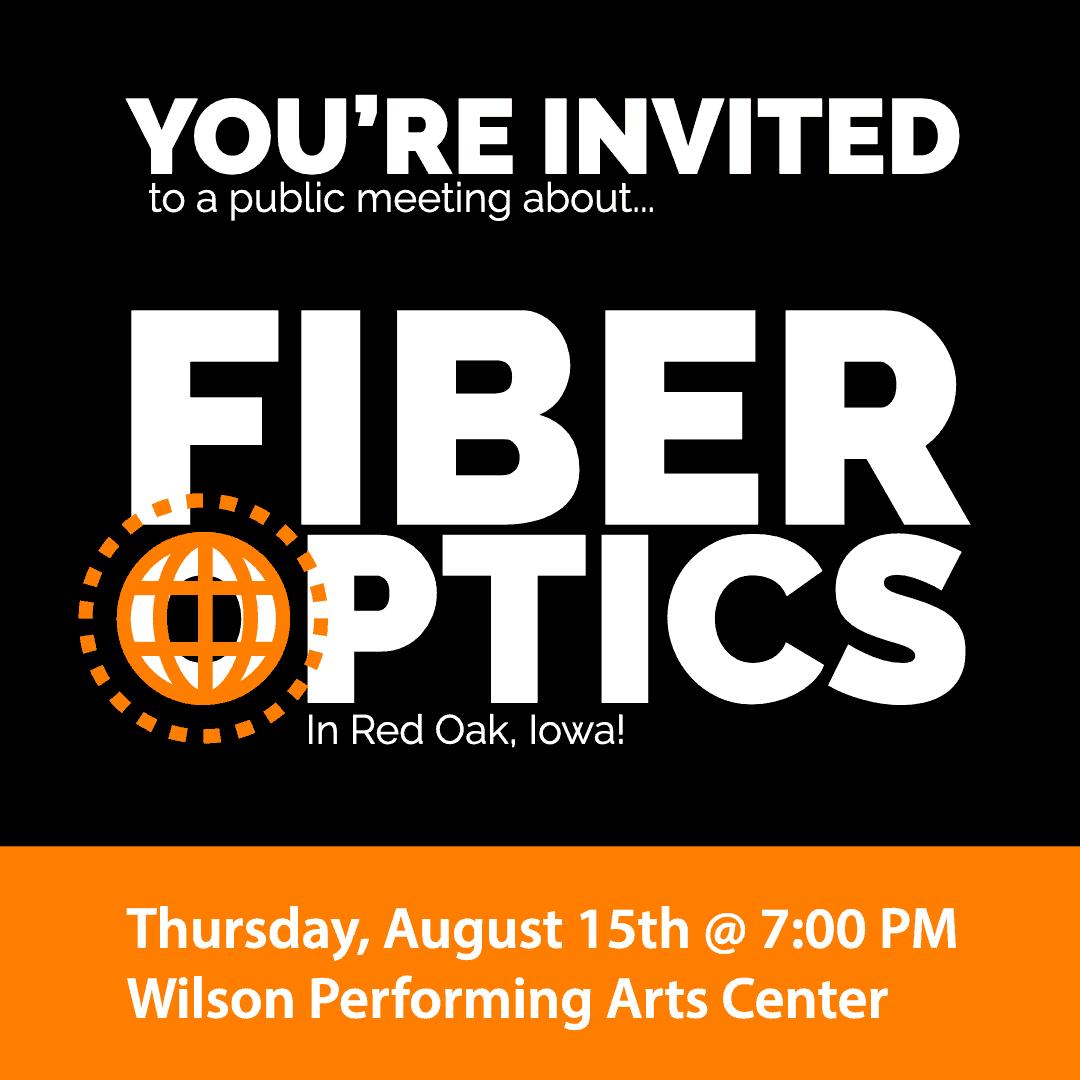 Public Fiber Optics Meeting in Red Oak