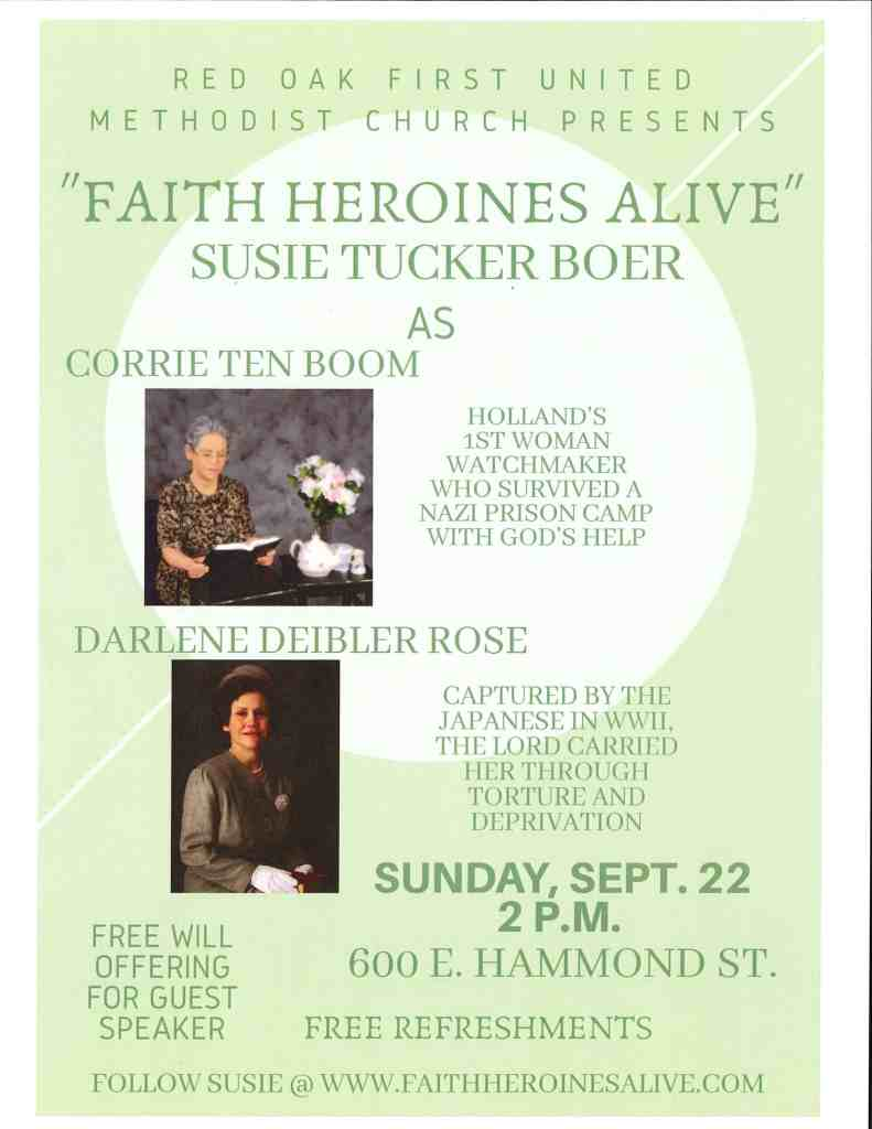 Faith Heroines Alive
