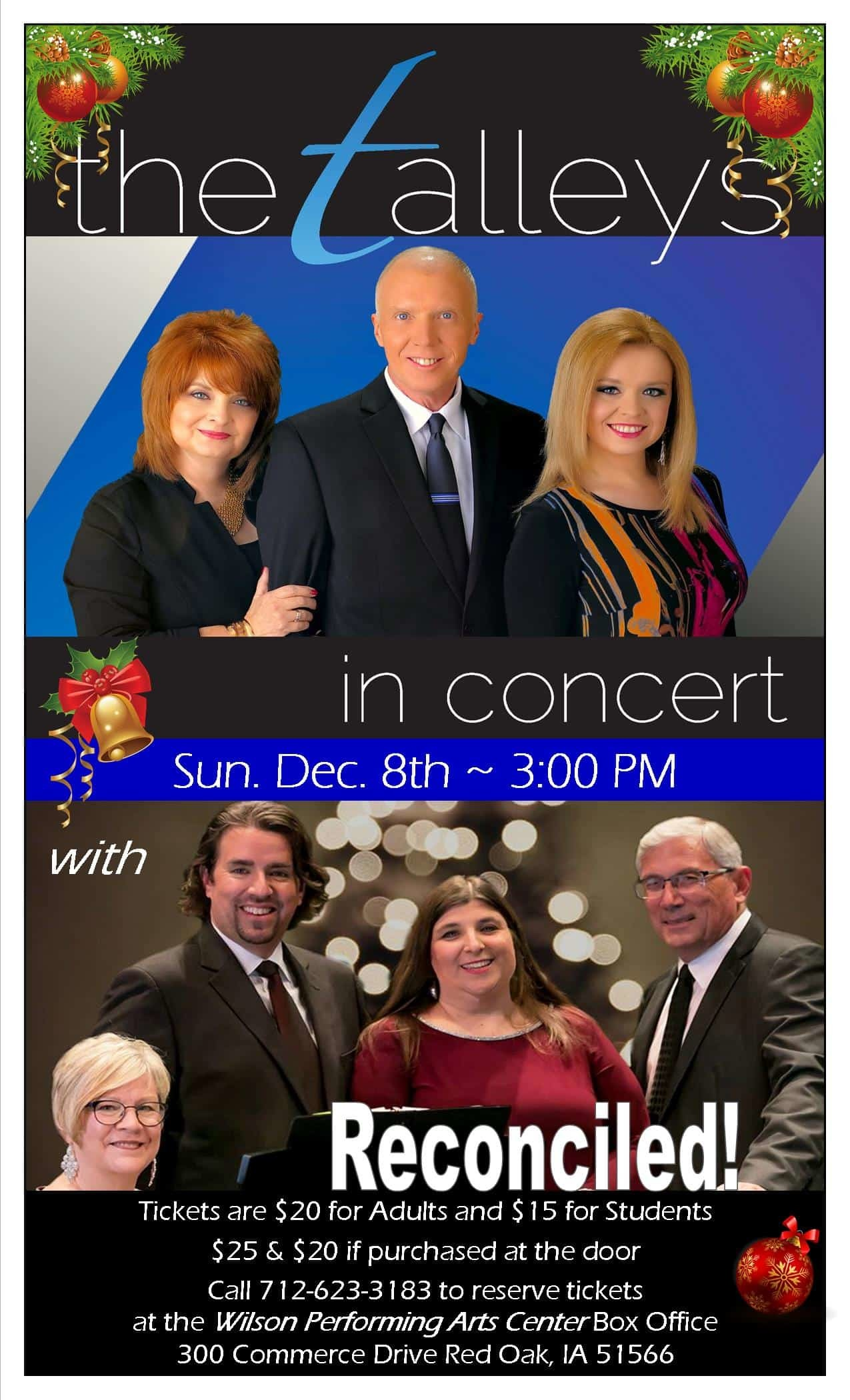 The Talleys in concert