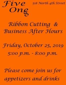 Ribbon Cutting Five One 8