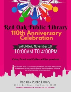Public Library 100th anniversary