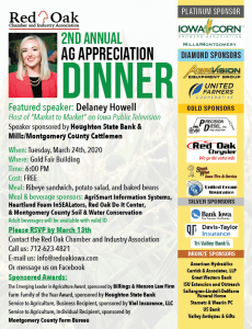 2nd Ag Appreciation Dinner