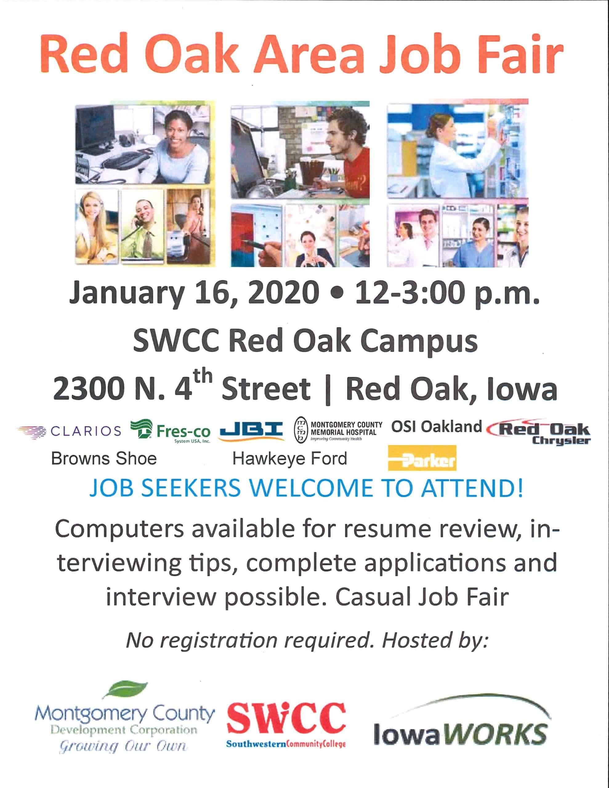 Red Oak Job Fair